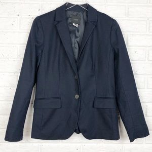 JCREW Cotton Navy Blazer